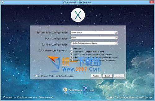 OS X Mavericks Transformation Pack v3.1 官方免费版